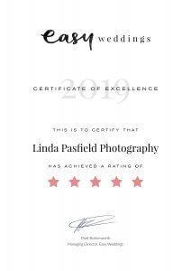 2019_EW 5 Star Certificate Linda Pasfield